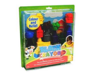 BLOCK CRAYON FARM 12pc