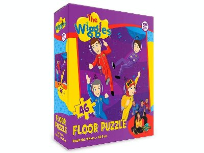 WIGGLES IN SPACE FLOOR PUZZLE