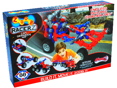 ZOOB MOBILE CAR DESIGNER 88pc