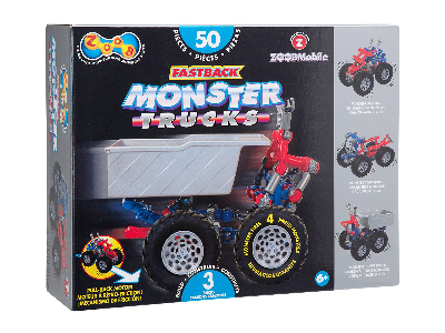 ZOOB 50pc MONSTER TRUCK