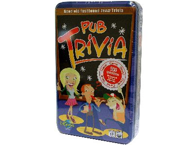 PUB TRIVIA CARD GAME (TIN)