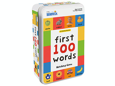 FIRST 100 WORDS TIN