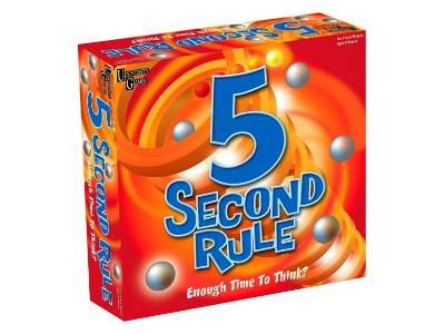 5 SECOND RULE BOARD GAME