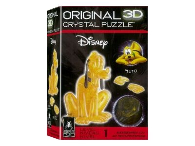 3D PLUTO CRYSTAL PUZZLE