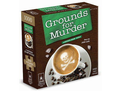 GROUNDS FOR MURDER BePUZZLED