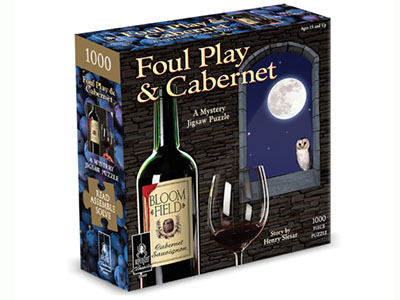 FOUL PLAY & CABERNET BePUZZLED