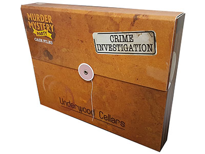 MURDER MYSTERY CASE FILES