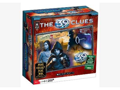 39 CLUES JIGSAW 200pc