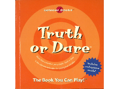 TRUTH OR DARE SPINNER BOOK