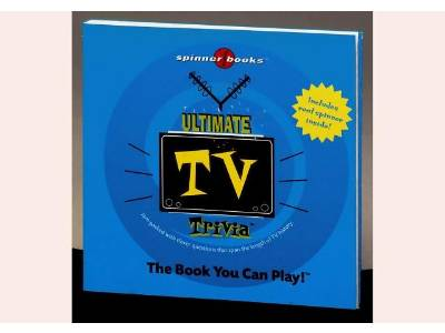 ULTIMATE TV TRIVIA SPINNER BK.