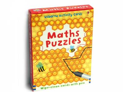 MATHS PUZZLES WIPE-CLEAN