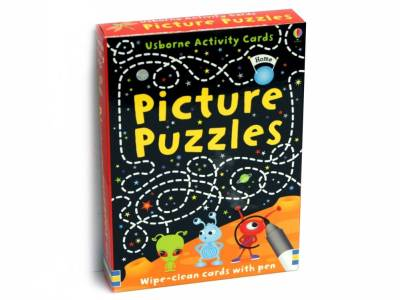 PICTURE PUZZLES WIPE-CLEAN