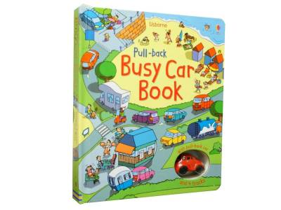 PULL BACK BUSY CAR BOOK