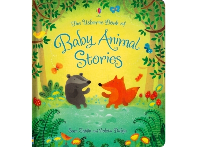BOOK OF BABY ANIMAL STORIES