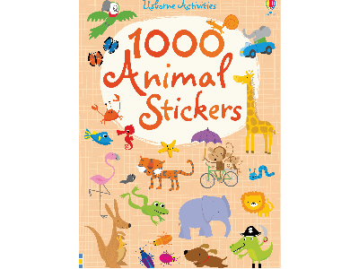 1000 ANIMALS STICKERS