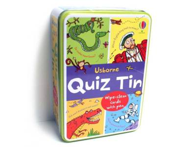 USBORNE QUIZ TIN
