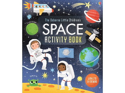 SPACE ACTIVITY BOOK CHILDREN'S