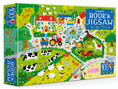 ON THE FARM USBORNE JIGSAW