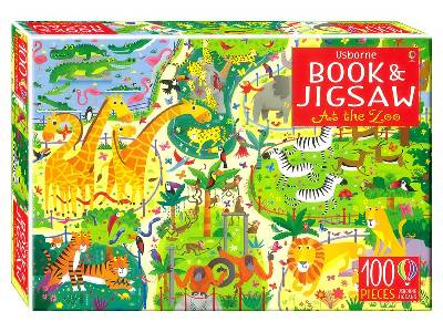 BOOK & JIGSAW AT THE ZOO