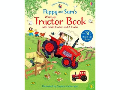 WIND-UP TRACTOR BOOK Poppy's
