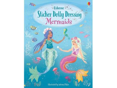 MERMAIDS STICKER DOLLY DRESSNG