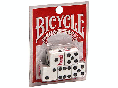 DICE (5) BICYCLE