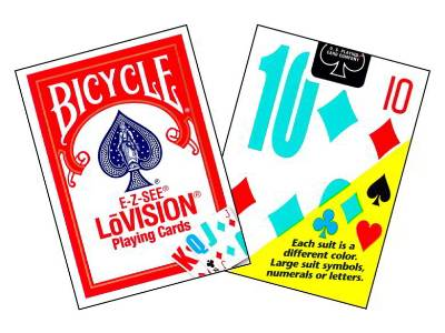 BICYCLE LO-VISION PLAYNG.CARDS