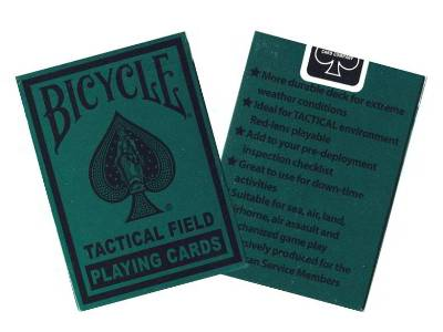 BICYCLE POKER TACTICAL FIELD