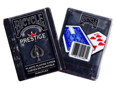 BICYCLE POKER PRESTIGE PLASTIC