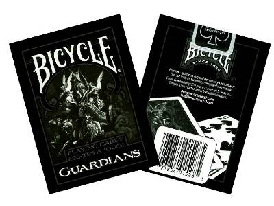 BICYCLE POKER GUARDIANS
