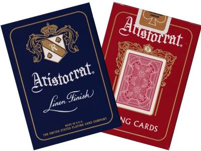 ARISTOCRAT POKER LINEN FINISH