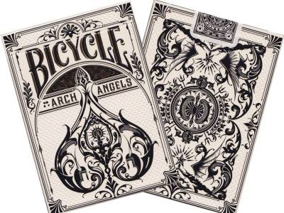 BICYCLE POKER ARCH ANGELS FOIL