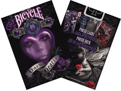 BICYCLE POKER ANNE STOKES DARK