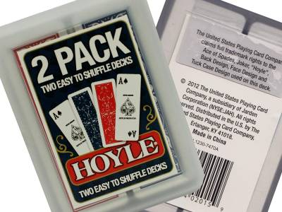 HOYLE SLICE PACK PLAYING CARDS