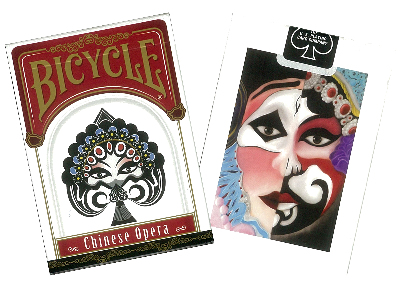 BICYCLE POKER CHINESE OPERA