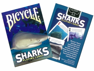 BICYCLE POKER SHARKS