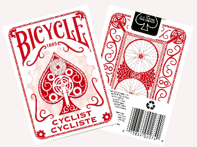 BICYCLE POKER CYCLIST