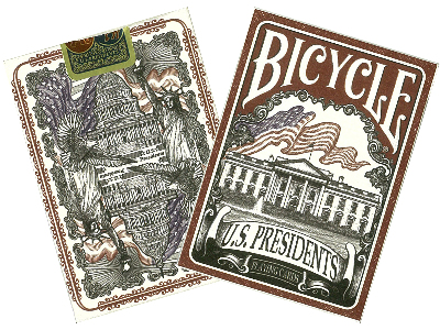 BICYCLE POKER US PRESIDENTS
