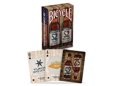 BICYCLE POKER CRAFT BEER