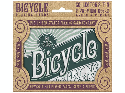 BICYCLE POKER RETRO GIFT TIN