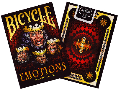 BICYCLE POKER EMOTIONS