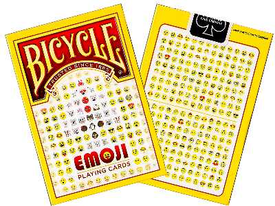 BICYCLE POKER EMOJI