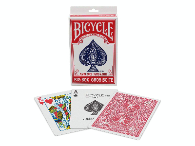 BICYCLE BIG BOX - RED