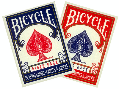 BICYCLE POKER MINI RIDERBACK