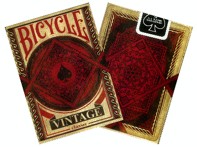 BICYCLE POKER VINTAGE CLASSIC