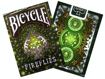 BICYCLE POKER FIREFLIES FOIL