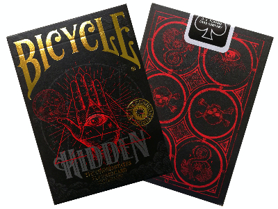 BICYCLE POKER HIDDEN, FOIL