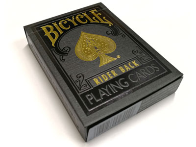 BICYCLE POKER PREMIUM BLK/GOLD