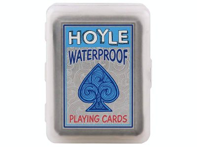 HOYLE POKER CLEAR PLASTIC