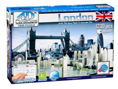 4D CITYSCAPE LONDON